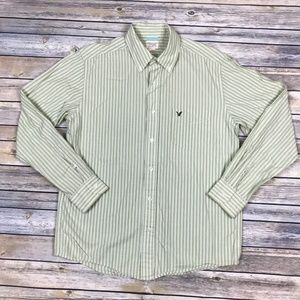 American Eagle Outfitters Men's Striped Shirt